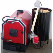 Calor SZB 50 kW-os vegyestüzelésű kazán pelletégetővel