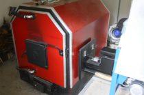 SZB 50 KW  típusú kazán apríték adagoló csatlakozással