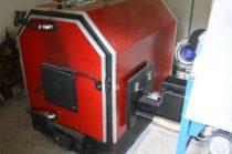 SZB 50 KW  típusú kazán  adagoló csatlakozással