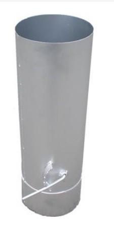 Füstcső szeleppel 190/500 mm-es